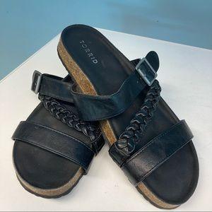 """TORRID """"Birkenstock"""" Style Comfort Sandals Sz 10"""
